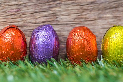 How do you eat your Easter egg? Mindfully I hope.