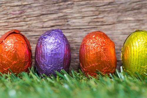 How do you eat your Easter egg? Mindfully I hope.