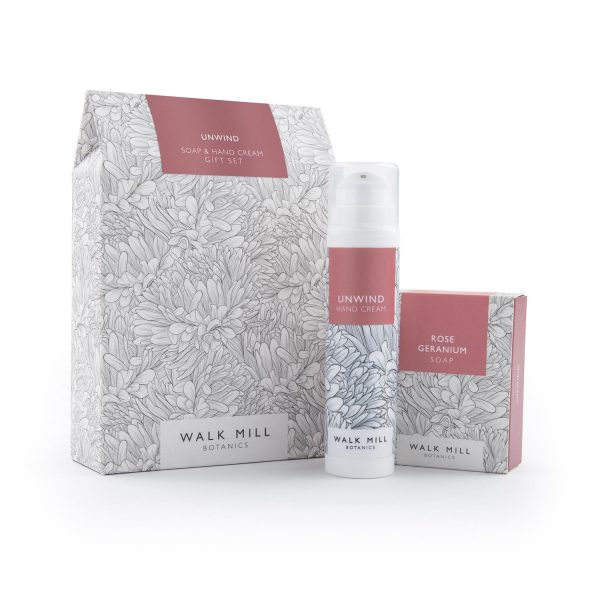 Unwind Hand Cream Gift Set with Soap